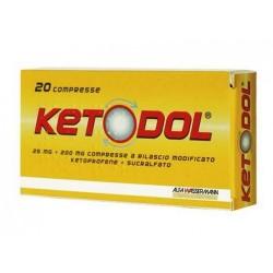 Ketodol Anidolorifico ad ampio Spettro 20 Compresse