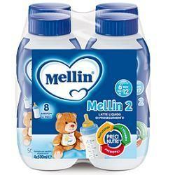 Mellin 2 Latte 500 Ml 4 Pezzi