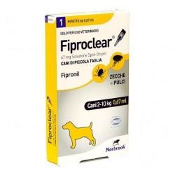 Fiproclear Spoton Cani 2-10...