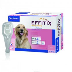Effitix Cani 20-40Kg 4 Pipette