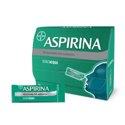 Aspirina Antinfiammatorio e Antinfluenzale 500 Mg 20 Buste Granulari