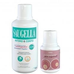 Saugella Diverse Ma Uguali Detergente Intimo e Corpo 500 Ml
