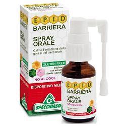 Specchiasol Epid Barriera Spray Protezione Gola senza Alcool 15ml