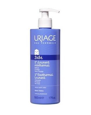 Uriage Bebè Detergente Oleoso all'Acqua Termale Linimento 500 ml