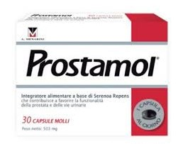 Prostamol Integratore per Ipertrofia Prostatica Benigna 30 Capsule