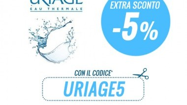 Extra 5% su Uriage